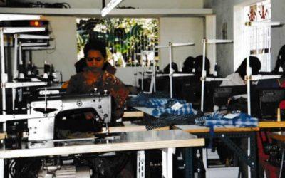Asia: Shirt factory